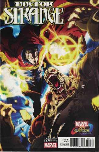 Doctor Strange #24 Unlocked Marvel Vs. Capcom Variant Marvel 2015