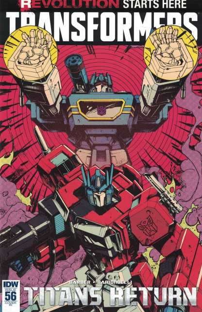 Transformers Ongoing #56 1:10 Retailer Incentive Variant RI IDW