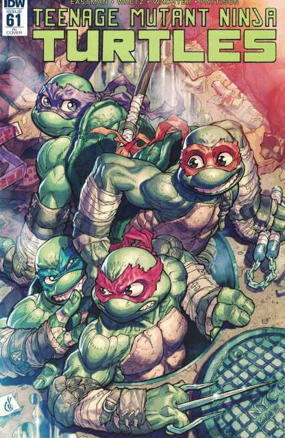 Teenage Mutant Ninja Turtles #61 1:10 Retailer Incentive Variant RI IDW TMNT