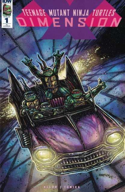 Teenage Mutant Ninja Turtles Dimension X #1 1:20 Eastman Variant RI TMNT VF/NM-