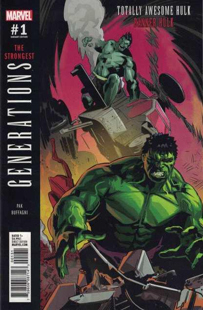 Generations Hulk Totally Awesome Incredible #1 1:25 Buffagni Variant 2017