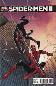 Spider-Men II #1 1:25 David Marquez Variant Marvel 2017 Miles Morales Spider-Man