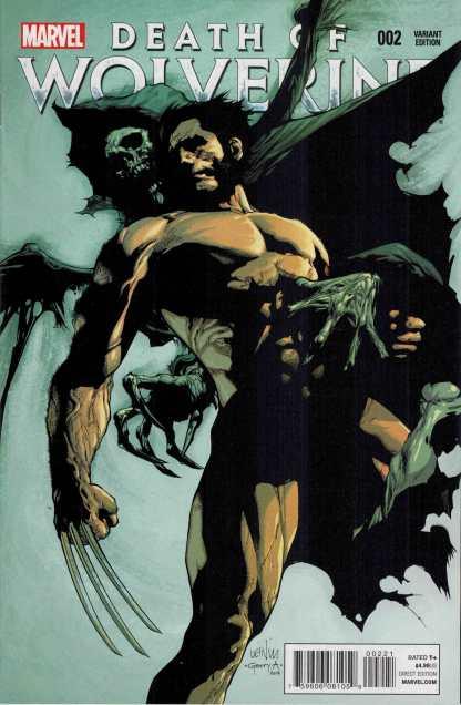 Death of Wolverine #2 1:50 Lenil Yu Variant