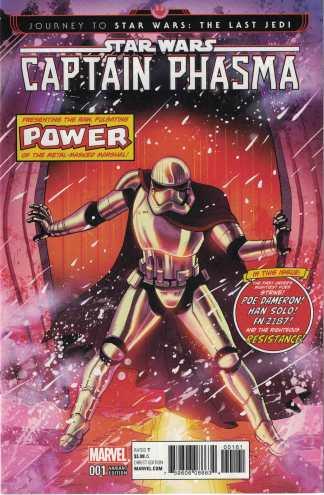 Journey Star Wars Captain Phasma #1 1:50 Ganucheau Homage Variant Marvel 2017