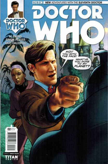 Doctor Who The 11th Doctor #2 1:10 Simon Frasier Variant Eleventh
