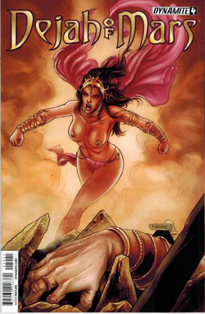Dejah of Mars (2014) #4 1:10 Fabiano Neves Variant