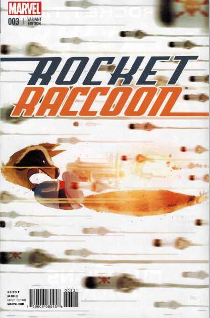 Rocket Racoon #3 1:25 Pascal Campion Variant