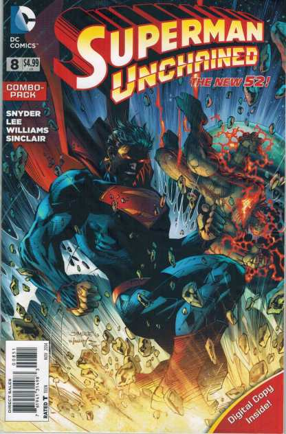 Superman Unchained #8 Combo Pack Edition