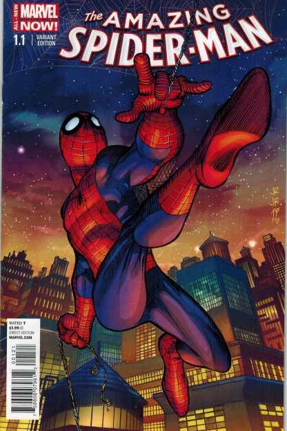 Amazing Spider-man #1.1 1:50 John Romita Jr Variant