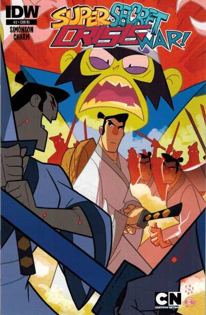 Cartoon Network Super Secret Crisis War #3 RI Variant