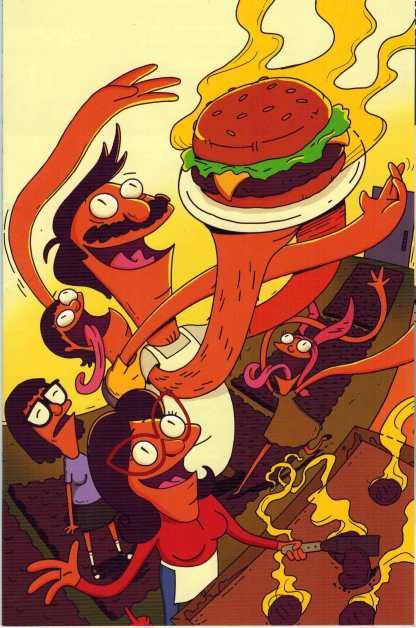 Bob's Burgers #1 1:25 Devin Roth Virgin Art Variant