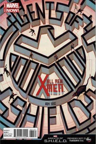 All-New X-Men #31 1:10 Agents of Shield Variant S.H.I.E.L.D. Marvel 2012