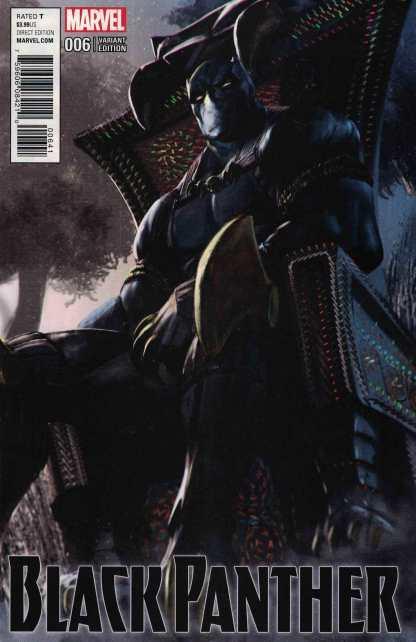 Black Panther #6 1:25 Udon Variant Marvel ANAD 2016