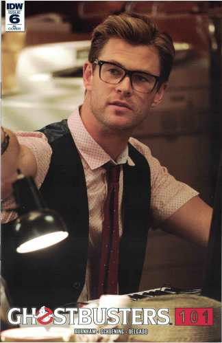 Ghostbusters 101 #6 1:10 Chris Hemsworth Kevin Photo Variant IDW 2017