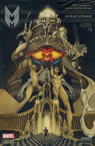 Miracleman by Gaiman and Buckingham #1 1:25 Bianchi Variant Marvel 2015