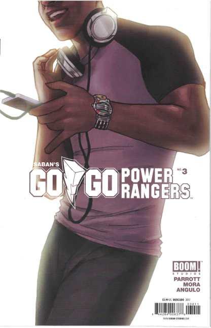 Go Go Power Rangers #3 1:10 Mercado Hidden Chase Variant Boom 2017