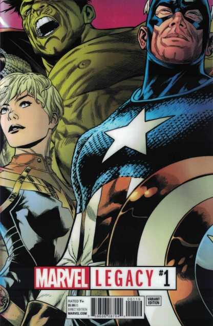 Marvel Legacy #1 Joe Quesada Lenticular Variant 2017