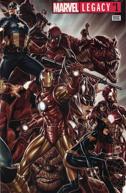 Marvel Legacy #1 Unlocked Mark Brooks Wraparound Variant 2017