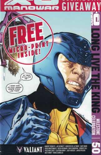 X-O Manowar #50 1:25 Phil Jimenez Obama Homage Variant Cover L Valiant 2012
