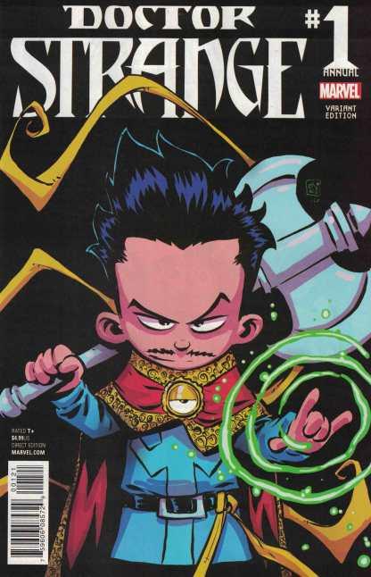 Doctor Strange Annual #1 Skottie Young Marvel Babies Variant ANAD 2015