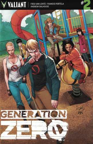 Generation Zero #2 1:20 Clayton Henry Variant Cover D Valiant 2016