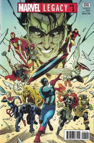 Marvel Legacy #1 Schiti Retailer Variant One Per Store 2017