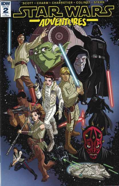 Star Wars Adventures #2 1:10 Tim Levins Variant Marvel 2017
