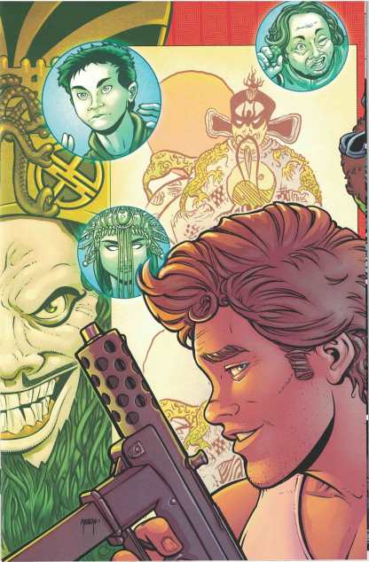 Big Trouble in Little China Old Man Jack #1 1:15 Will Robson Variant Boom 2017