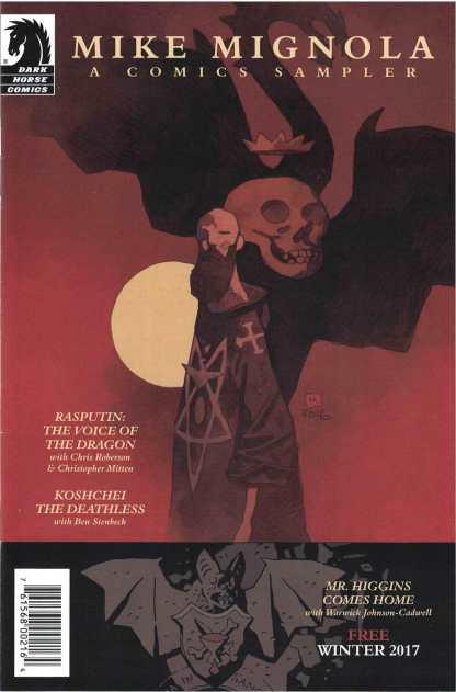 Mike Mignola Comics Sampler 2017 Winter Special Dark Horse Ashcan Edition