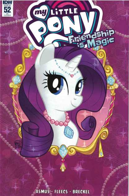 My Little Pony Friendship is Magic #52 1:10 Valentina Pinto Variant IDW 2012