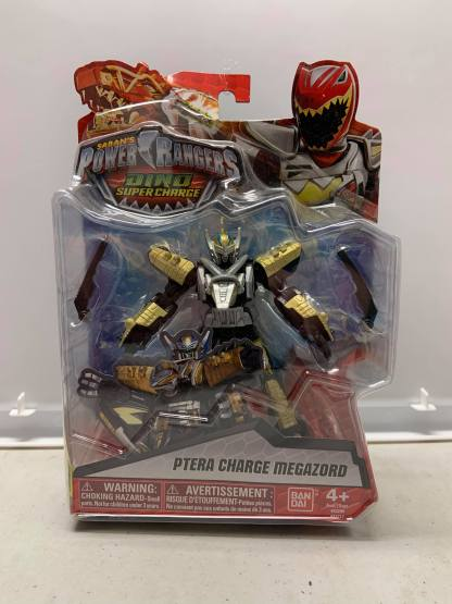 """Power Rangers Dino Super Charge Ptera Charge Megazord Figure 5"""""""