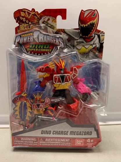 """Power Rangers Dino Super Charge Dino Charge Megazord 5"""""""