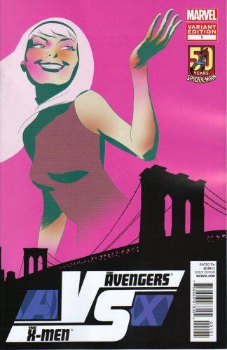 Avengers vs. X-Men VS #1 Amazing Spider-Man 50th Anniversary Variant