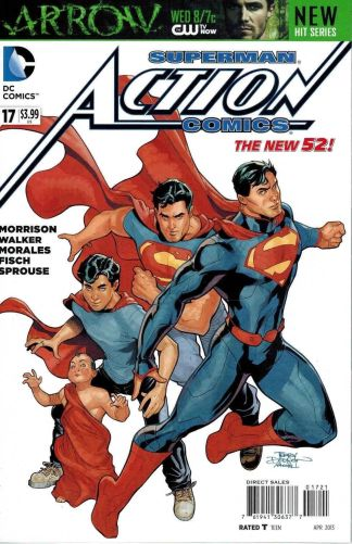 Action Comics #17 Dodson 75 Years of Superman Variant DC 2011 New 52
