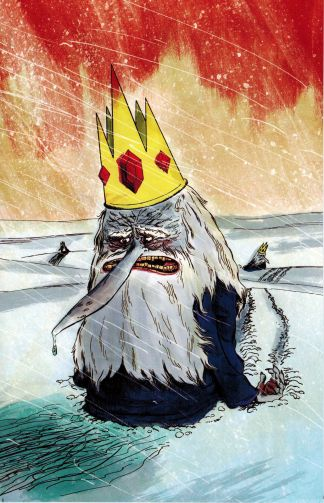 Adventure Time #12 David King Cover D Variant Kaboom 2014 Ice King