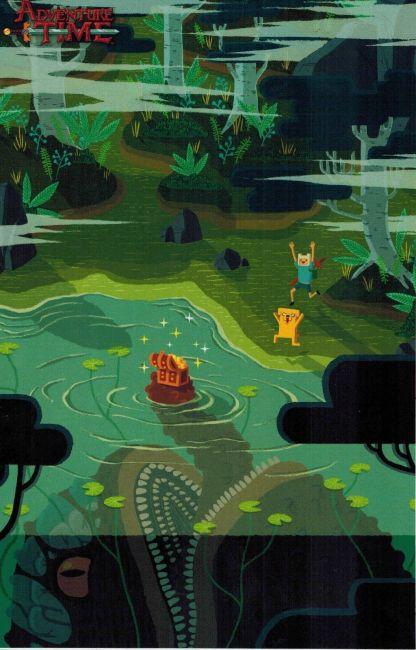 Adventure Time #22 Allen Lau Cover D Variant Kaboom 2014