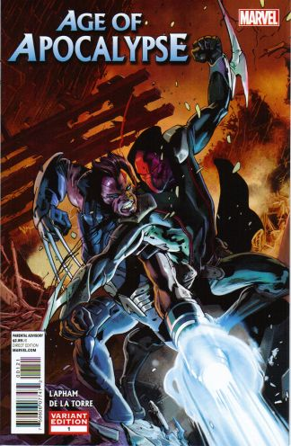 Age of Apocalypse #1 Bryan Hitch Variant