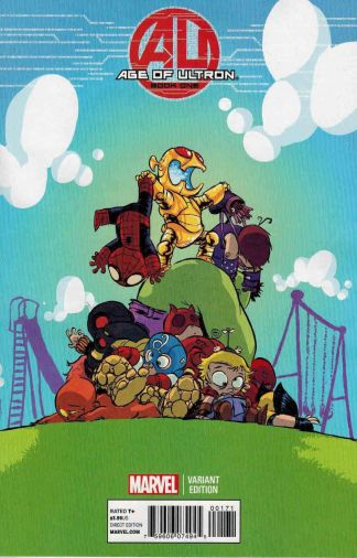 Age of Ultron #1 Skottie Young Marvel Babies Variant 2013