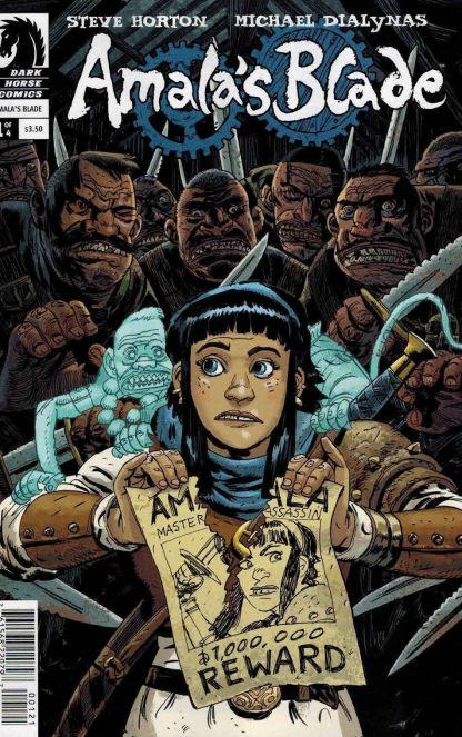 Amala's Blade #1 Guy Davis Variant