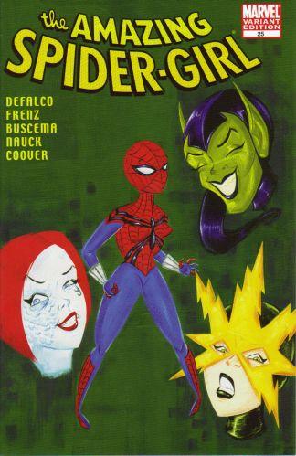 Amazing Spider-Girl #25 Variant Stephanie Buscema