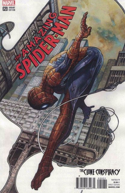 Amazing Spider-Man #20 1:25 Simone Bianchi Variant Marvel ANAD 2016 DNM CC
