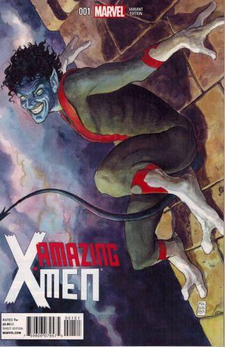 Amazing X-Men #1 1:50 Milo Manara Nightcrawler Variant Marvel NOW 2013