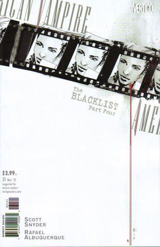 American Vampire #31 Francesco Francavilla Variant DC Vertigo 2010 Scott Snyder