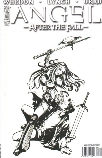Angel: After the Fall #3 B&W Variant Buffy the Vampire Slayer Joss Whedon