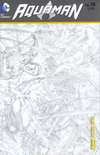 Aquaman #10 1:25 Sketch Variant