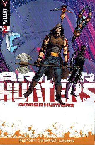 Armor Hunters #2 1:25 Trevor Hairsine Variant