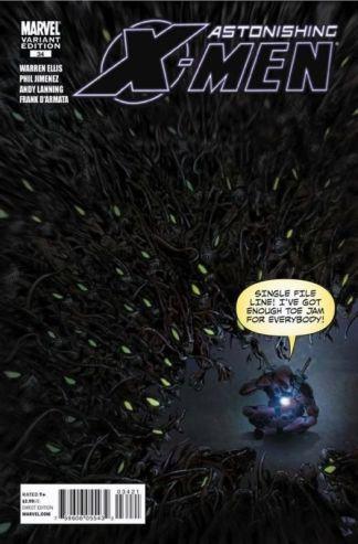 Astonishing X-Men #34 1:15 Phil Jimenez Deadpool Variant Marvel 2004