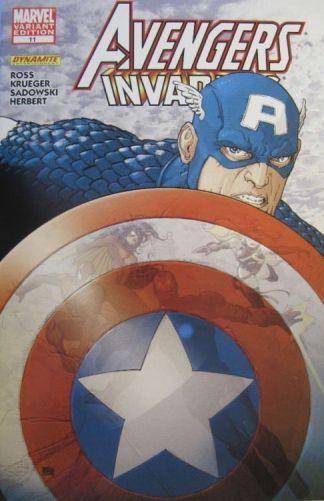 Avengers Invaders #11 Alberti Variant