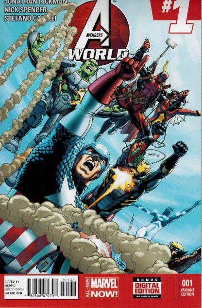 Avengers World #1 Deadpool Variant 2014