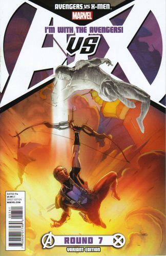 Avengers vs. X-Men #7 Avengers Team Variant